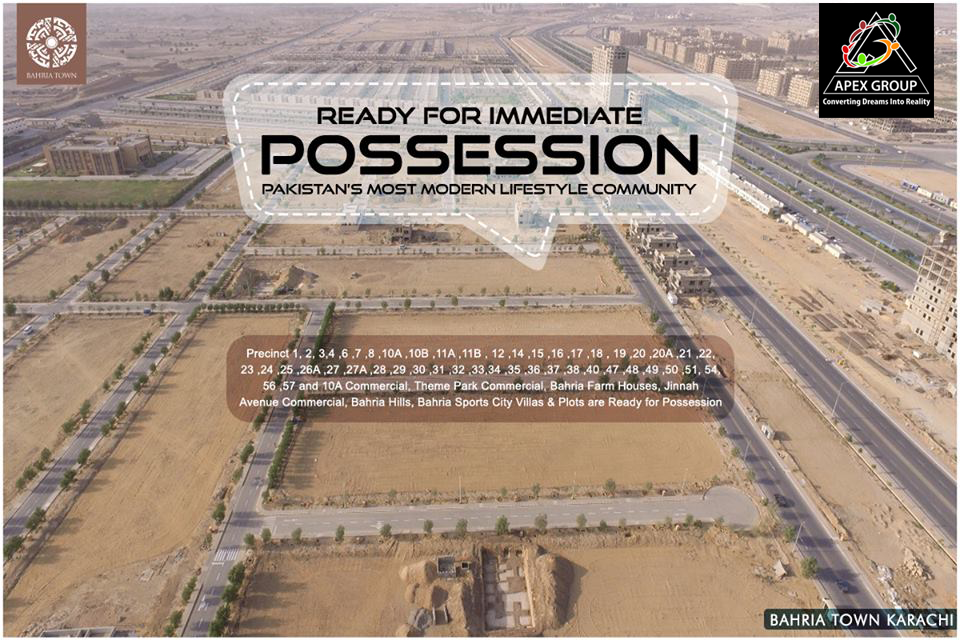 Bahria Town Karachi Possession Updates and Latest News ...